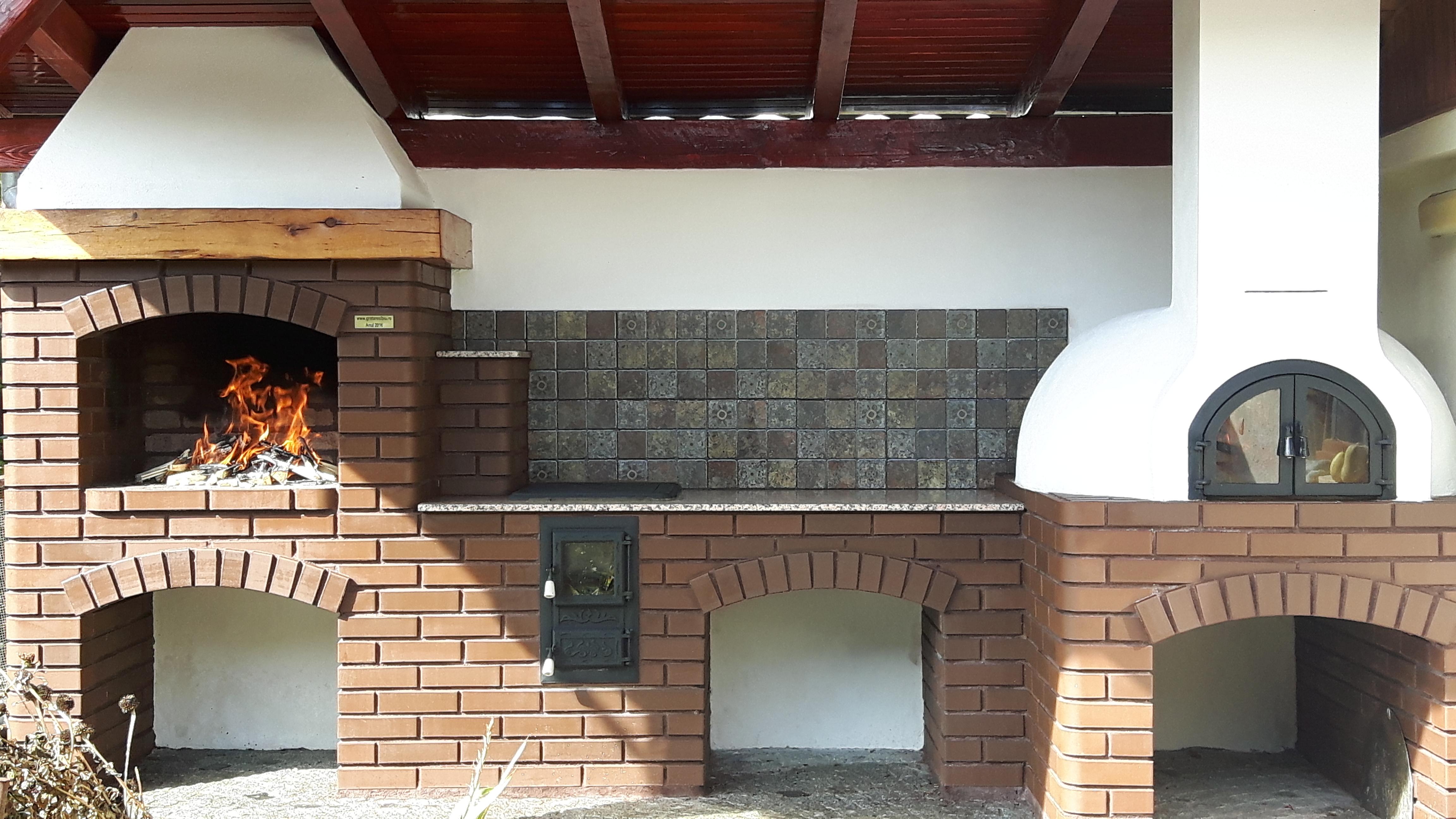 Gratar gradina constructie gratare zidite si bucatarii de for Gratare de gradina